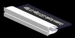 Laser Engraving Acrylic led  Edge Lit Sign Base