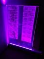 Wall Hanging Custom RGB LED Edge Lit