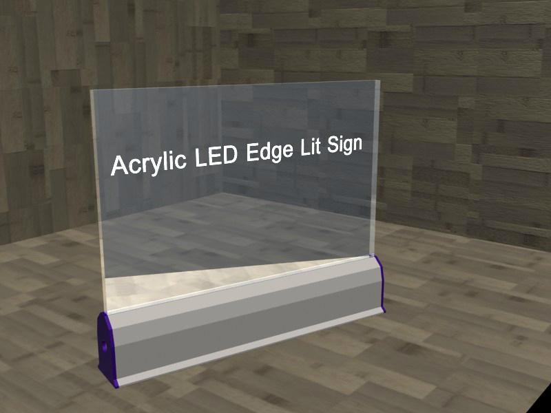 Led Emergency Light Custom Made Led Laser Engraving