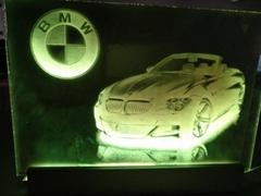 Acrylic Glass laser eng