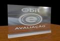 Led Edge Lit Sign With Aluminum Base