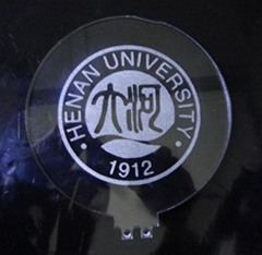 laser engraved plate