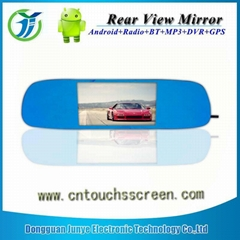 High quality IGO compatible multifunction rear view mirror gps