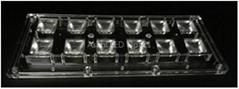 12 lens LED optics for Highbay 90°