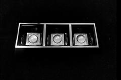 1X3 linear lens 50° for recessed linear lighting, pendant linear lighting