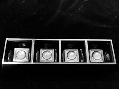 1X4 linear lens 50° for recessed linear lighting, pendant linear lighting