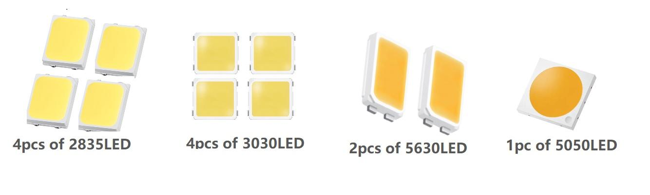 1X4 linear lens  designed with the optical grill ASL160D40H4LED50G 3