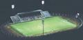 High Power lens module for Stadium lighting 96 LEDs lens 20° 5
