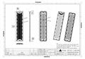High Power lens module for Stadium lighting 96 LEDs lens 60° 4