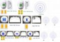 3x11 lens array 90 degree designed for Mid Power LEDs ALHB321D66LED90GIP  2