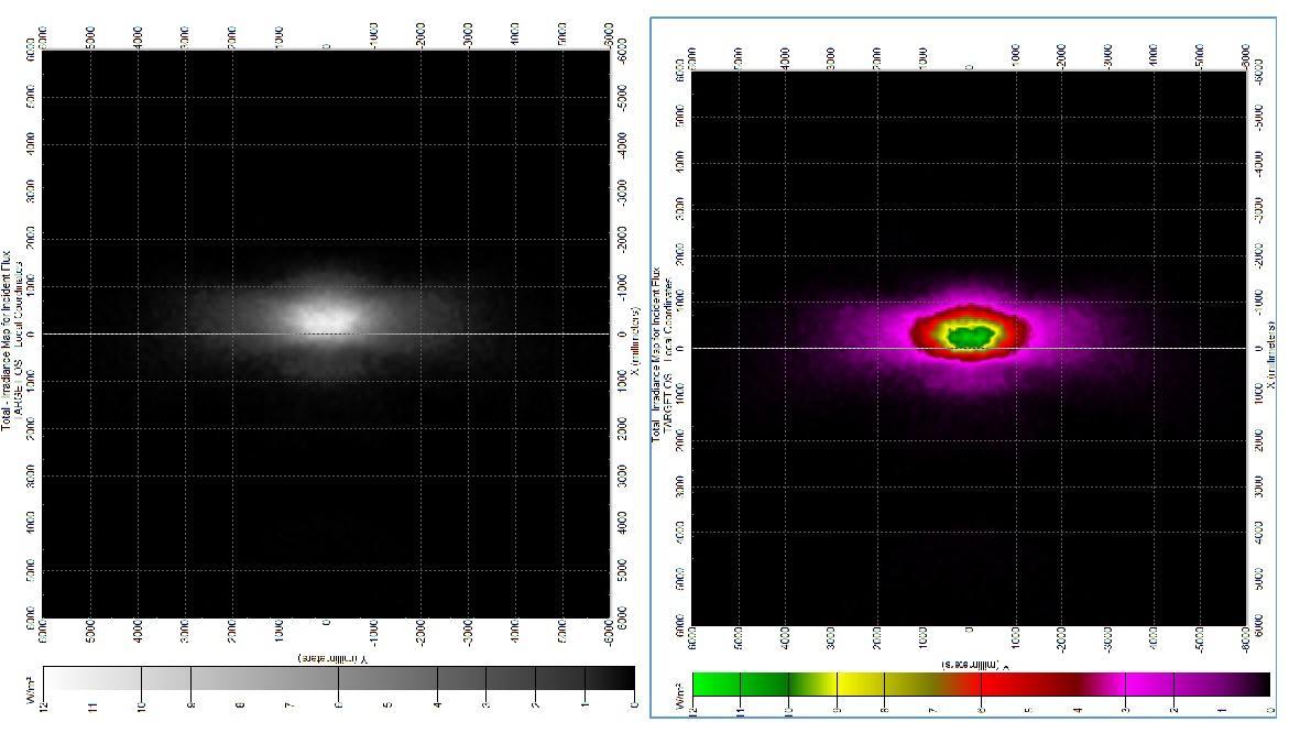 BUG standard Lens for Asymmetric beam Light in Horizontal ALST173D12LED3535T2M-H 2