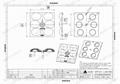 leading wholesale suppliers of optical lenses 6LED lens T3W ALST50D6LED5050T3W 3