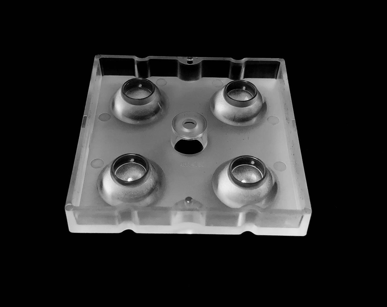 Optical lens lentes optics 4 LEDs lens high bay for 5050LED ALHB50D4LED5050T30G 2