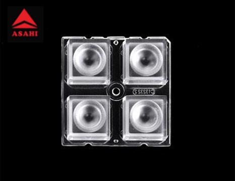 ALST50D4LED3535T30G 2x2 lens 30 degree for 3535LED 4 in 1 Optical Lens  1