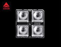 ALST50D4LED3535T30G 2x2 lens 30 degree for 3535LED 4 in 1 Optical Lens