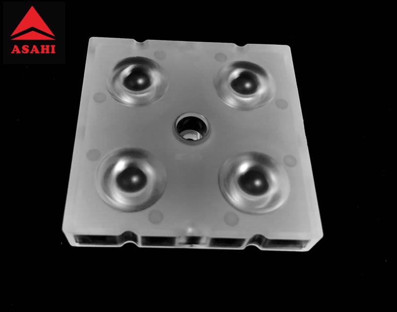 Optical lens lentes optics 4 LEDs lens high bay for 5050LED ALHB50D4LED5050T30G 1