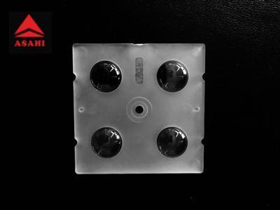 China factory 2x2 led lens 60 degree ALHB50D4LED5050T60G  1
