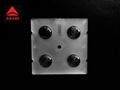 China factory 2x2 led lens 60 degree