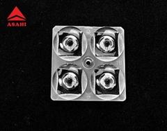 Optical Lens Manufacturer Optical PC lens T5 TYPEV LED Lens ALST50D4LEDT5R