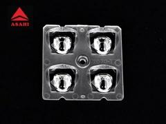 7070LED 2x2 lens module TYPEII Very Short for LED light ALST50D4LED7070T2VS