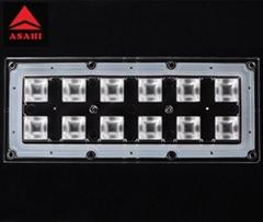 2x6 optical lens 60 degree 5050LED high bay module optical lens ALHB173D12LED60G