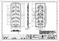 173mm Diameter TYPEIII Medium 5050LED IP66 lamp lens ALST173D12LED5050T3M  5