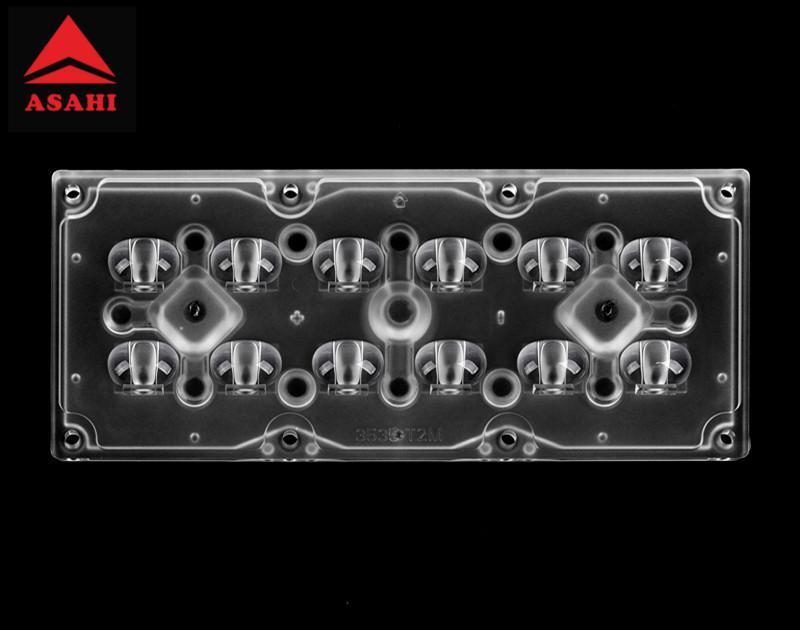 BUG standard Lens for Asymmetric beam Light in Horizontal ALST173D12LED3535T2M-H 1