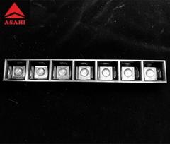 Linear lens module 1X7 linear lens 80G for different LED size ASL280D40H7LED80G