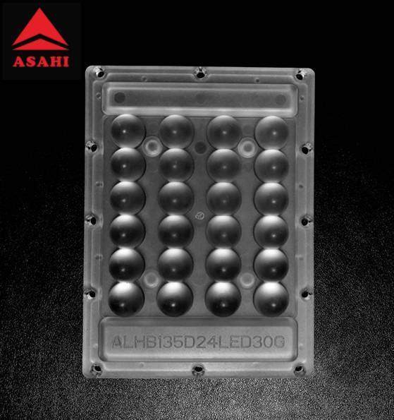 High-precision-widely-application 4x6 led lens 30 degree ALHB135D24LED30G  1