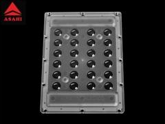 4X6 Optical Grade PC LED Highbay Lens 60G ALHB135D24LED60G