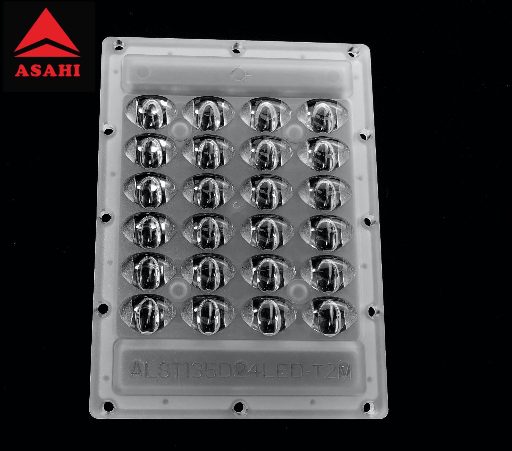 High-performance street lighting 4x6 optical led lens ALST135D24LEDT2M-cutoff 1