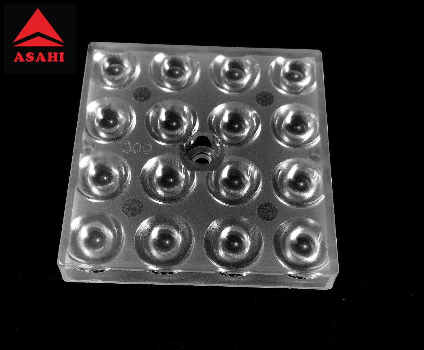Top quality optical lentes 16LEDs optical lens 030LED beam 30G ALHB50D16LED30G 1