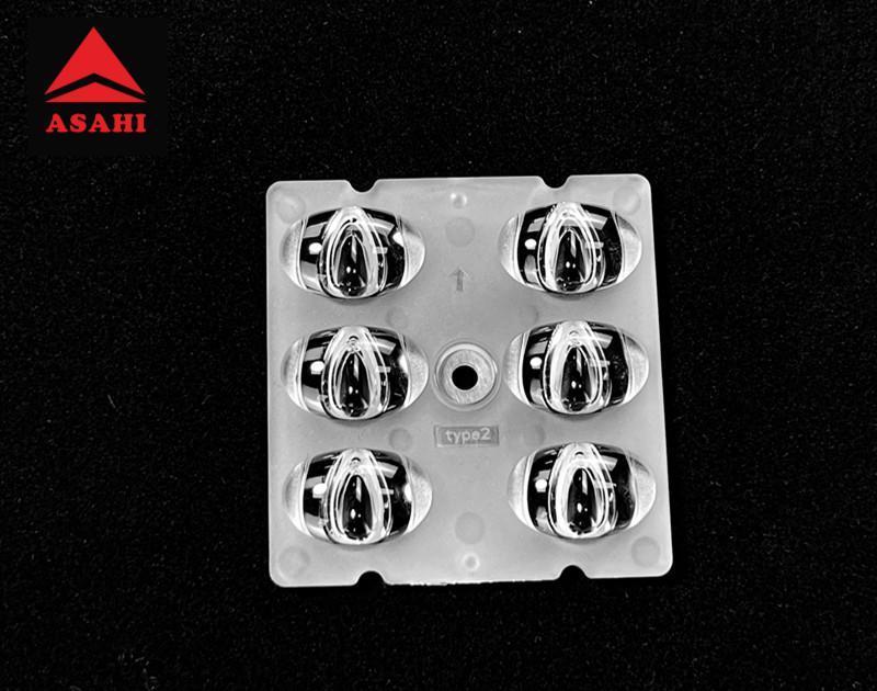 Street lighting 2X3 lens 6LEDs 5050T2M faster installations ARST50D6LED5050T2M 1