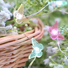 Holiday lights string Butterfly Garden Rope Lights String