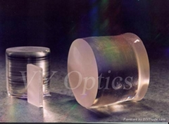 optical LiNbO3 crystal lens