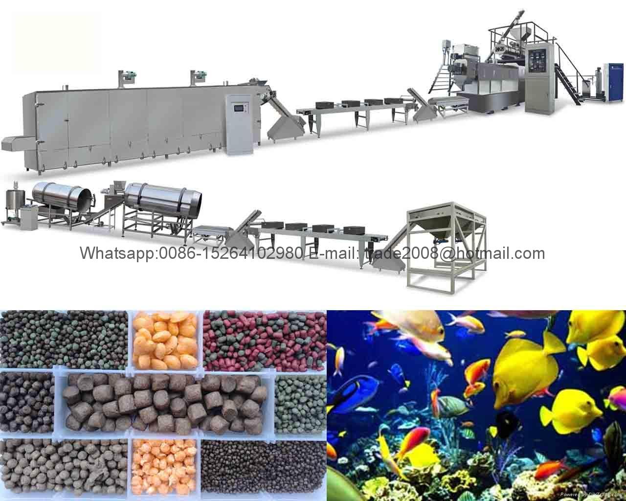 Fish food pellet making machine 3