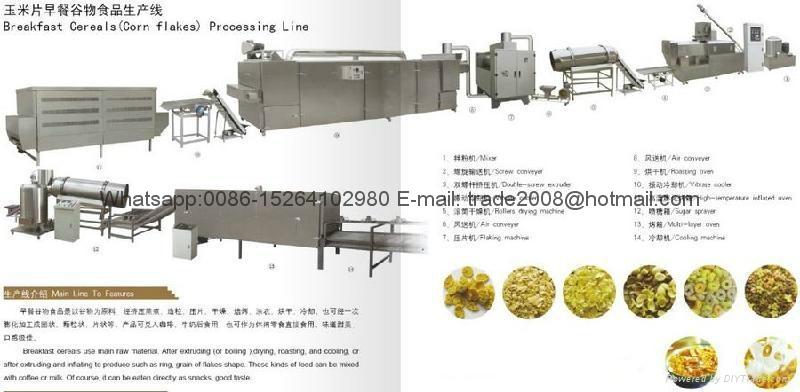 早餐谷物玉米片生产线 2