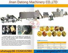Core filling snacks food production line