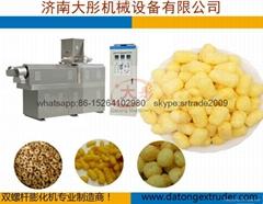 膨化玉米棒设备/膨化食品机械