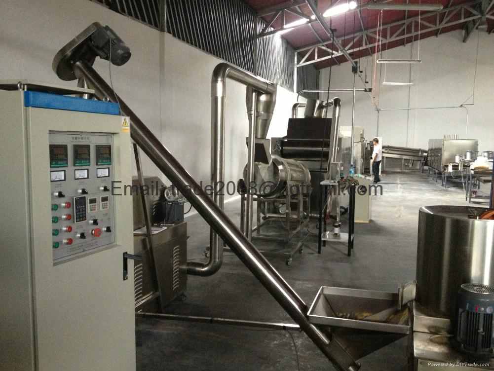 Floating Fish feed pellet extruder machine 4