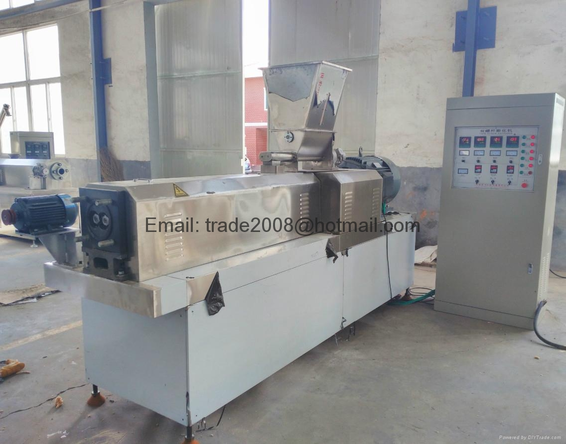 Floating Fish feed pellet extruder machine 6