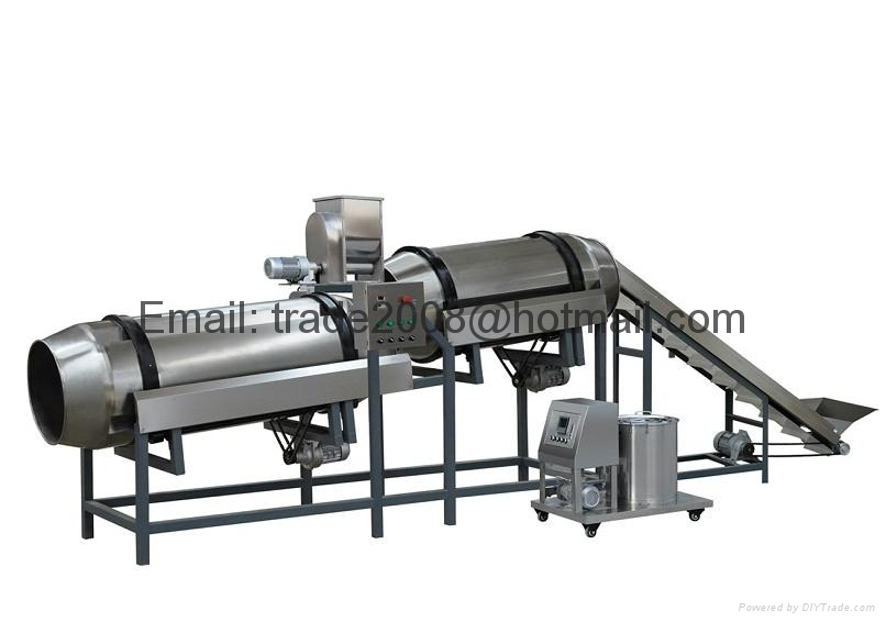 China floating Fish feed pelleting making processing extruder machine line plant 5