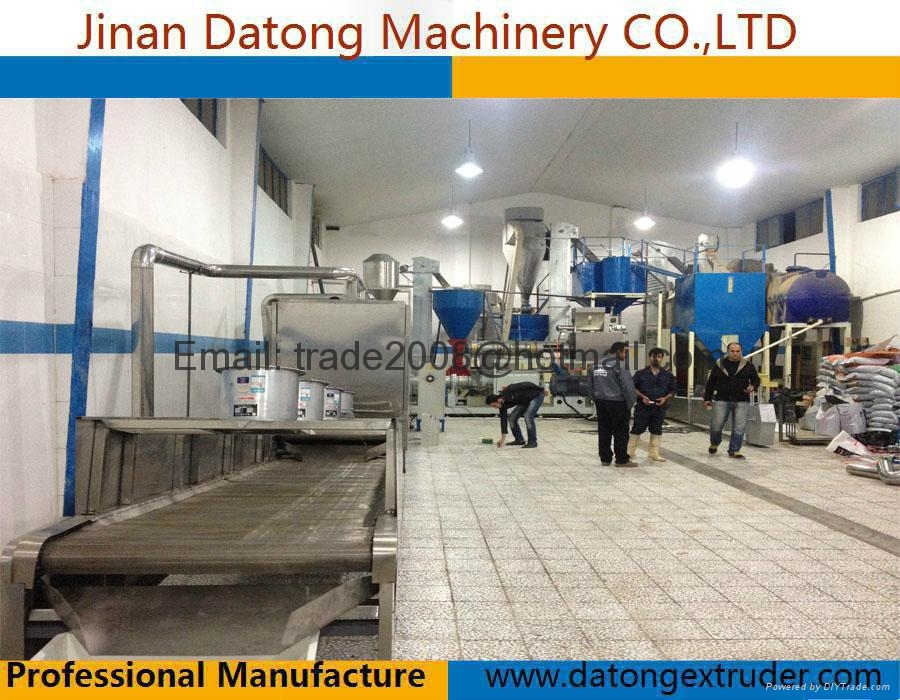 Floating Tilapia feed making machine 4