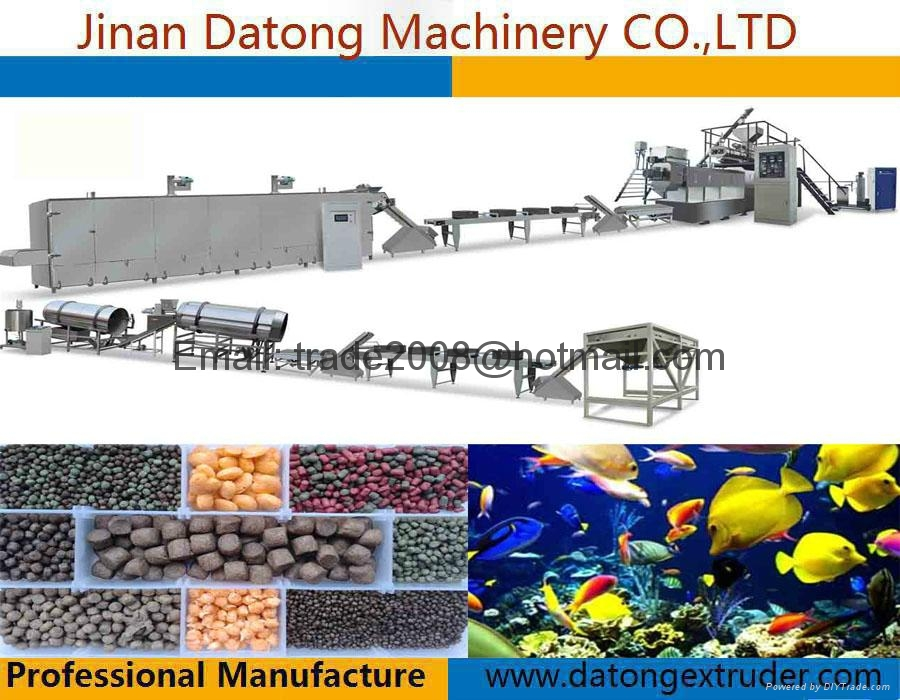 Floating Tilapia feed making machine 6