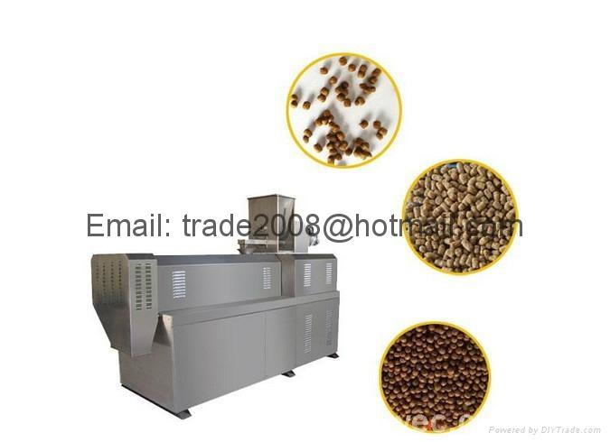 Fish Food Pellet Extruder plant 10