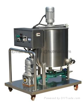 Core Filling Snack Food extruder Machine 3