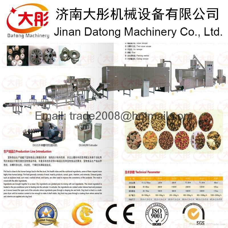 Pet food pellet processing machinery 9