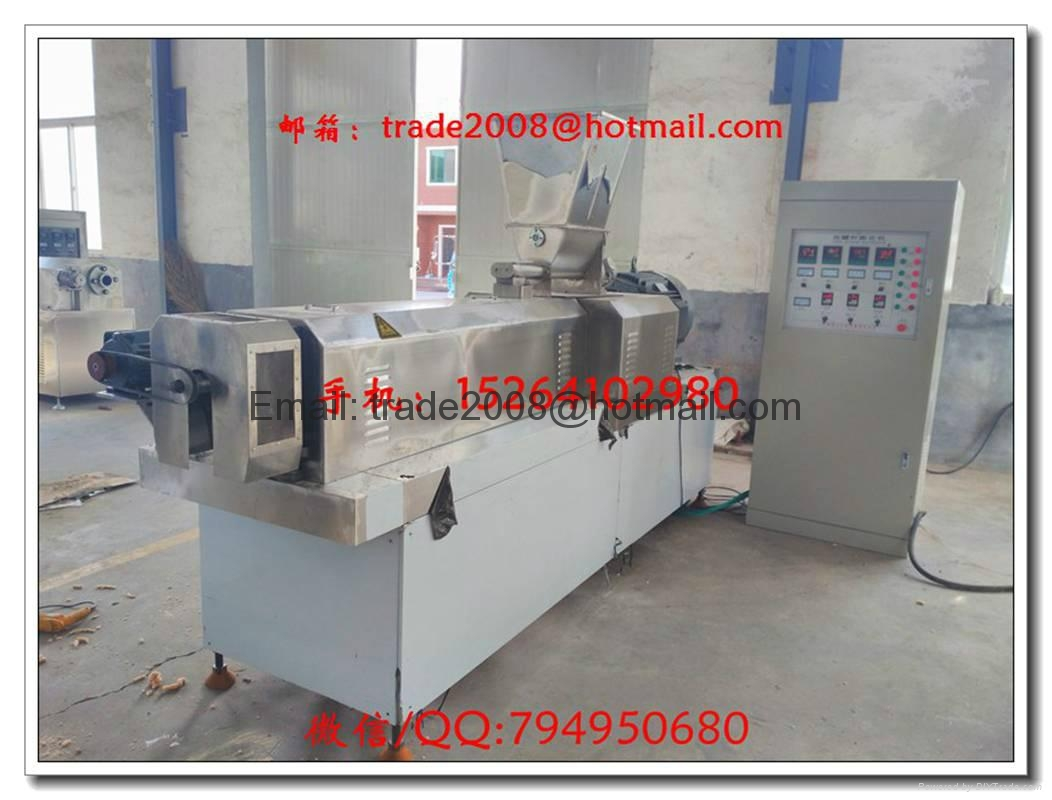 Floating fish feed food  pellet making extruder machine 5