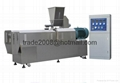 Twin screw extruder prices corn chips food making puff snack foodpellet machine 8