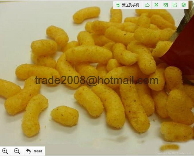 膨化玉米棒设备/膨化食品机械 3